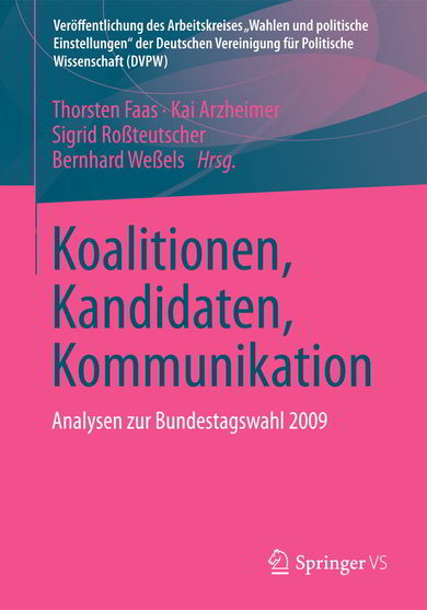 Cover Koalitionen, Kandidaten, Kommunikation