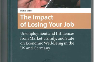 Das Buch von Martin Ehlert The Impact of Losing Your Job