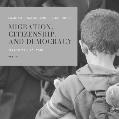 Migration Citizenship Democracy II
