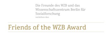 Friends of the WZB Award