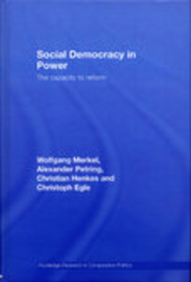 Social Democracy in Power